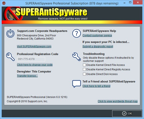 SUPERAntiSpyware Русская версия