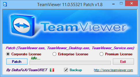TeamViewer 11 Patch